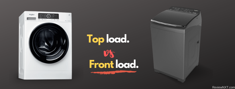 front load vs top load washing machines
