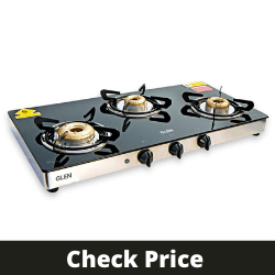 GLEN Glass Gas Stove 1033GTXL with Auto Ignition