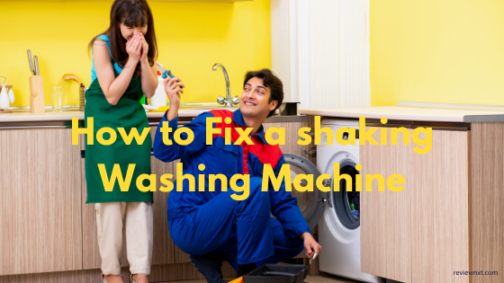 How to Fix a Shaking Washing Machine