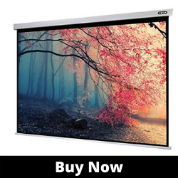 Liberty Vega Projection Screen 120_(4.9'x8.75')(16_9) Manto best Motorized projector screen 4 in 1 Remote