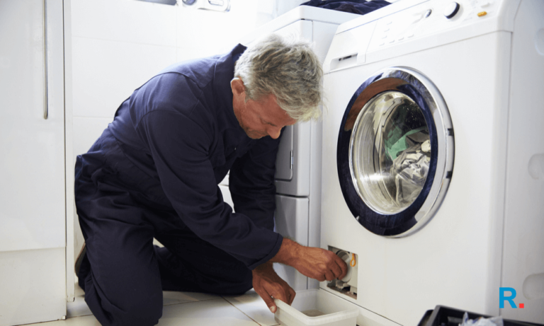 fixing a shaking washing machine (1)
