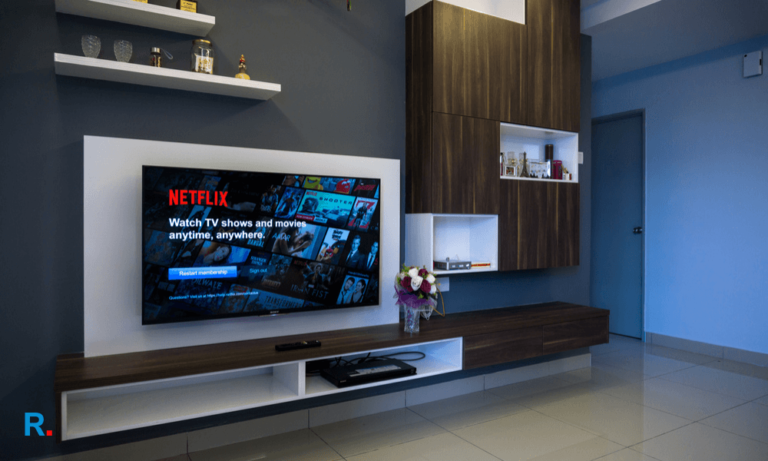 best android tv in India apartment room